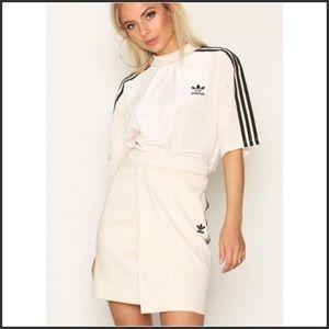 Adidas Originals High Waist Wrap Skirt ~L